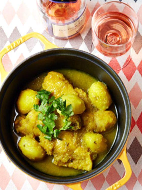 タジン鍋がなくてもできる伝統の蒸し煮料理|『ELLE a table』はおしゃれで簡単なレシピが満載!