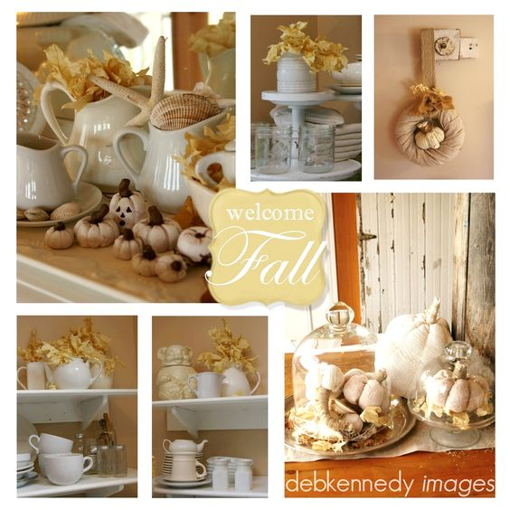 Fabulous, classy, and rustic fall decorating ideas.