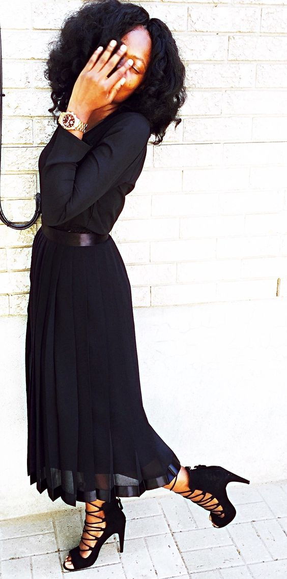 Black on back