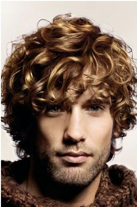 .Look at that that boys perfect curls and amazing color- I want the long version of his hair please!