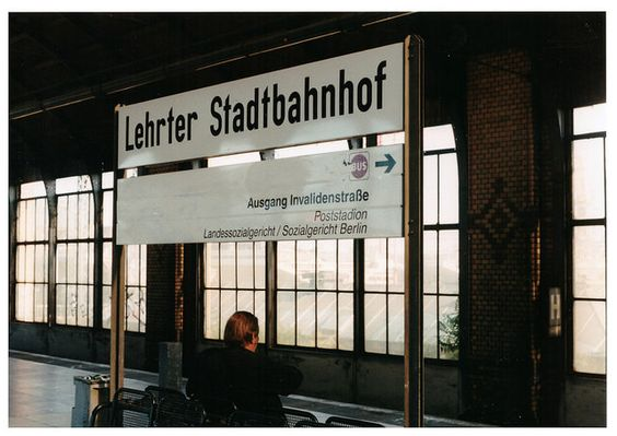 Lehrter Stadbahnhof 1999