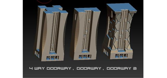 4 way doorway, doorway, doorway 2