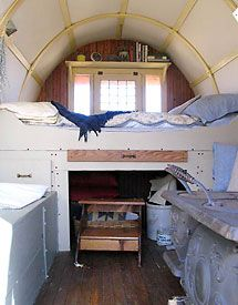 Shepherd 39 s wagon by lynn at apparently i dream of the mobile cottage - The mobile shepherds wagon ...