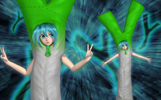 Miku's Leek Costume by Primantis.deviantart.com on @DeviantArt