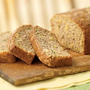 This zucchini quick bread has a tropical twist to it - crushed pineapple! Cinnamon and vanilla tie the flavors together and make this a delicious treat for breakfast or a snack.