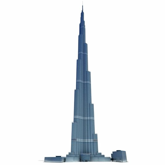 Burj Khalifa Dubai Tower 3D Model See The World In