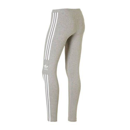 adidas originals 7/8 legging grijs melange - Adidas ...