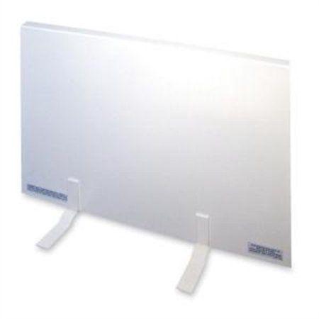 Tatco Energy-Saving 150 Watt Heating Panel Heater, Metal Case, 23 inchW x 1 inchD x 16 inchH, White