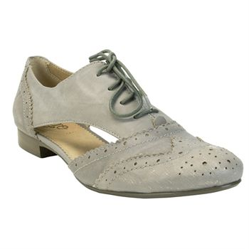 Latigo Firefly Cutout Oxford #VonMaur #Latigo #Grey