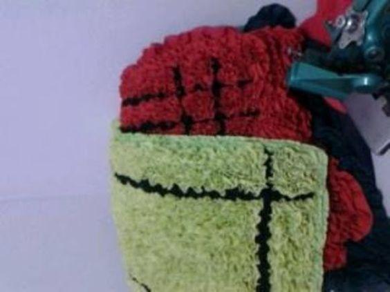 artesanato com tecidos tapetes - Pesquisa Google