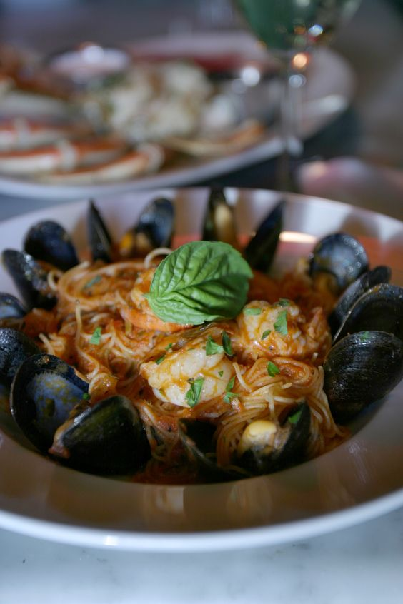 Love these! Sizzling Iron Skillet-Roasted Shrimp and Mussels. The Dead ...