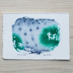 Got any dried coomassie gels we can sell? Check out the 'gorgeous original watercolors'.