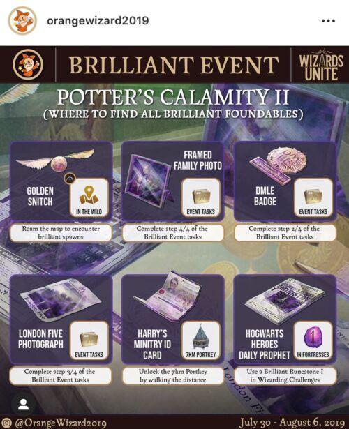 Wizards Unite Event Walkthrough Potter S Calamity Ii Calamity Event Potter