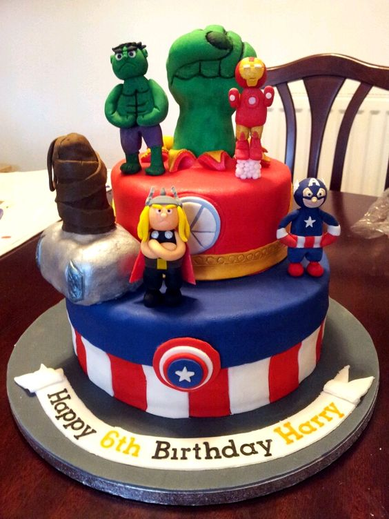 Cake Decorating Ideas Avengers : Pinterest   The world s catalog of ideas