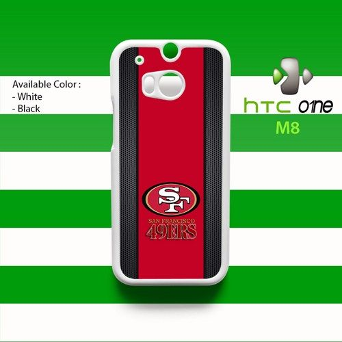 San Francisco 49ers HTC One M8 Case Cover