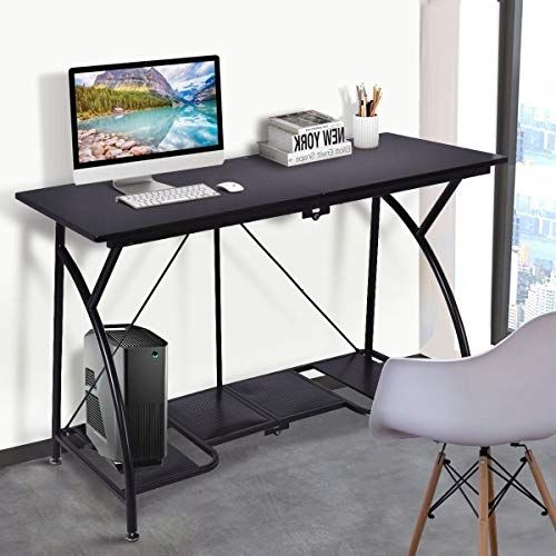 Portable Folding Computer Table Lightweight Easy Go Writing Desk