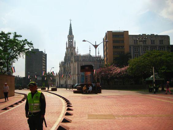 Avenida Colombia frente a la Ermita