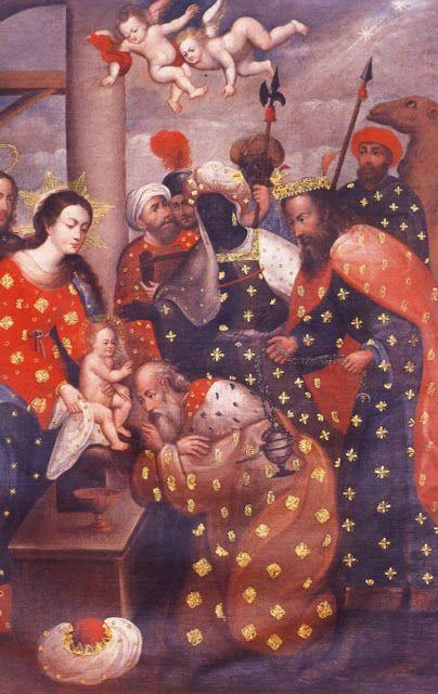 Las palabras del silencio: Pintura: Adoración de los Reyes Magos, Velázquez, Murillo, Zurbarán...