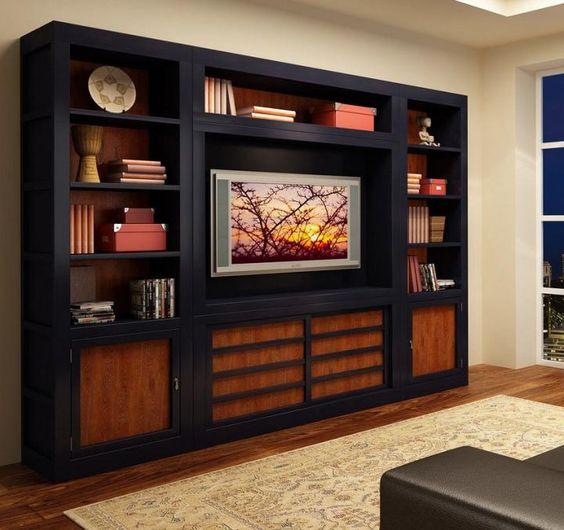 Mueble Yoshida de estilo oriental  Varios  Pinterest  Televisión