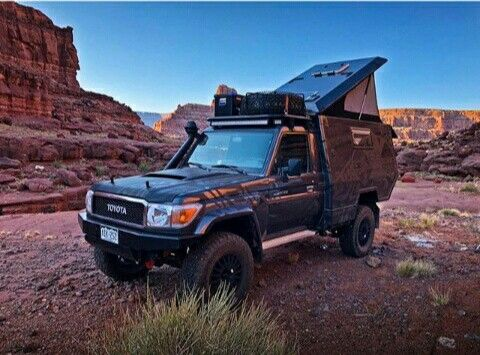 Pin By Steve Brown On Off Road Landcruiser Ute Overland Trailer