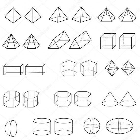 Imagenes De Figuras Geometricas Dibujos Para Armar Colorear Y Aprender Saberimagenes Com Dibujos De Figuras Geometricas Dibujos Dibujo Basico
