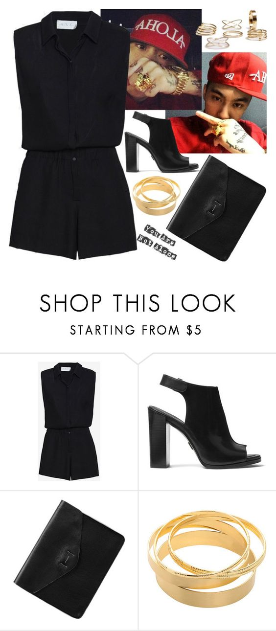 """""""Party with Dok2 (Illionaire)"""" by evil-maknae ❤ liked on Polyvore featuring A.L.C., Michael Kors and Gap"""