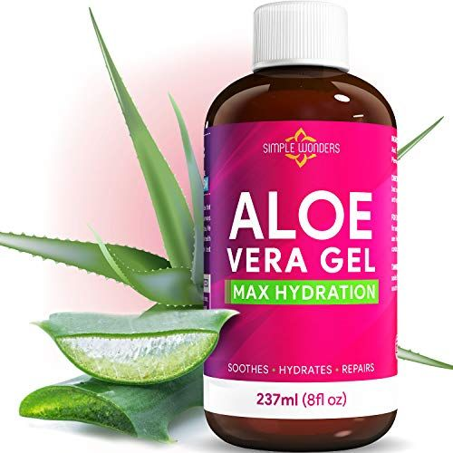 Aloe Vera Gel 100 Pure Organic Maximum Hydration For Face Skin And Hair From Plant Juice Soothing Lot In 2020 Soothing Lotion Aloe Vera Gel Organic Aloe Vera Gel