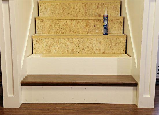 Stair Re Do Using False Treads From Home Depot  Http://www.homedepot.com/p/t/202086455?catalogIdu003d10053u0026langIdu003d 1u0026keywordu003d Stair+kitu0026storeIdu003d10051u0026Nu003d2u2026