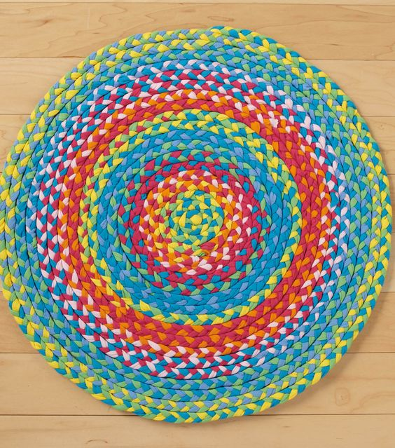 Braided Rug, Sewing Projects And No Sew On Pinterest