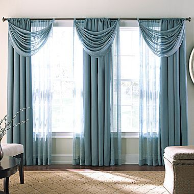 Draperies top home nulook blinds u draperies with for Jcpenney living room curtains