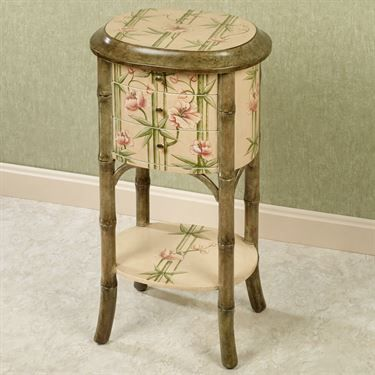 Bountiful Bamboo Wooden Side Table