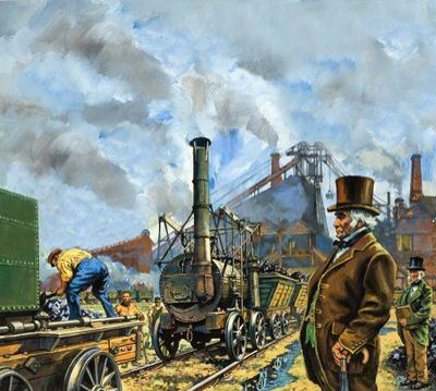 Puffing Billy Wall Art & Canvas Prints by Harry Green