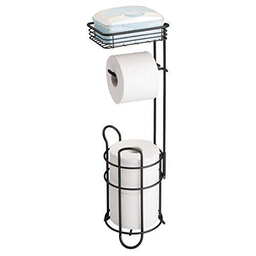 Mdesign Toilettenpapierhalter Eleganter Papierrollenhalter Aus