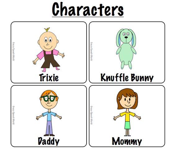 Knuffle Bunny: Speech & Language Activities