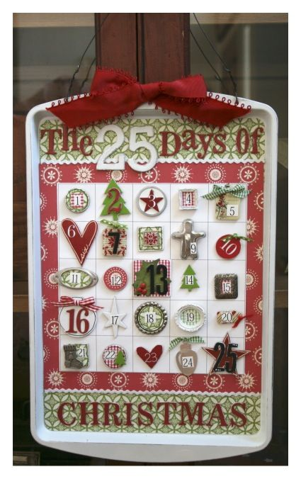 It's Written on the Wall: {13 Designs} Christmas Countdown Calendar