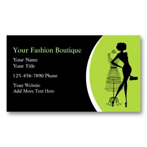 Clothing Boutique Business Cards Zazzle Com In 2021 Boutique Business Cards Fashion Business Cards Boutique Cards