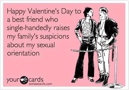 happy valentines day to a best friend who single handedly raises my familys suspicions about my sexual orientation amanda snelson haley pinterest - Valentines Day Best Friend