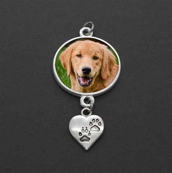 Dog Memorial Wedding Bouquet Charm 2