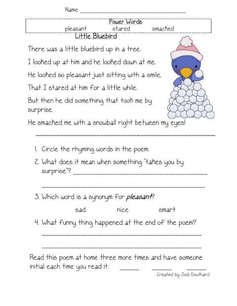 12 Free Printable Worksheets Reading Comprehension 5th Grade Grade Chartsheet Reading Worksheets 4th Grade Reading Worksheets 1st Grade Reading Worksheets 4th grade reading worksheets