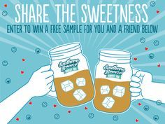 We LOVE sharing the sweetness of our zero calorie, no sugar sweet tea! Now it is your turn to share! We are giving away FREE sample packs of our Original Southern Breeze Sweet Tea for you and a friend! Grab a chance to WIN & share the sweetness USA Only-Now taking sign ups until 4/19