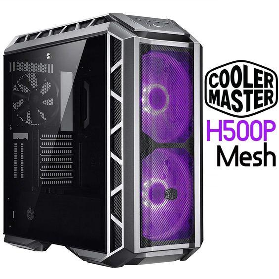 Cooler Master H500p Mesh Mastercase Atx Mid Tower Pc Computer