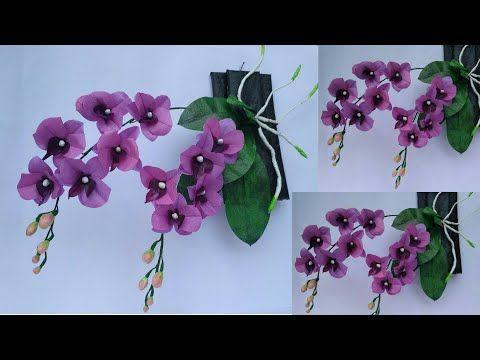 Tutorial Bunga Anggrek Dari Plastik Kresek Anggrek Plastik Kresek Anggrek Bulan Ungu Youtube Di 2020 Bunga Kreatif Buatan Tangan