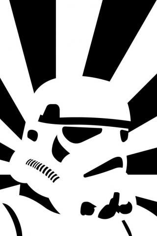 Pochoirs storm troopers and orages on pinterest - Pochoir star wars ...