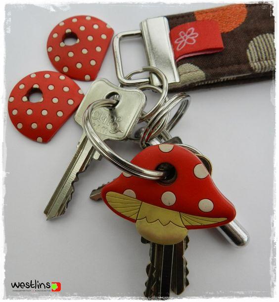 Schlüssel markieren mit Dekopatch