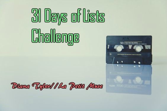 31 days of lists challenge: days 11-15