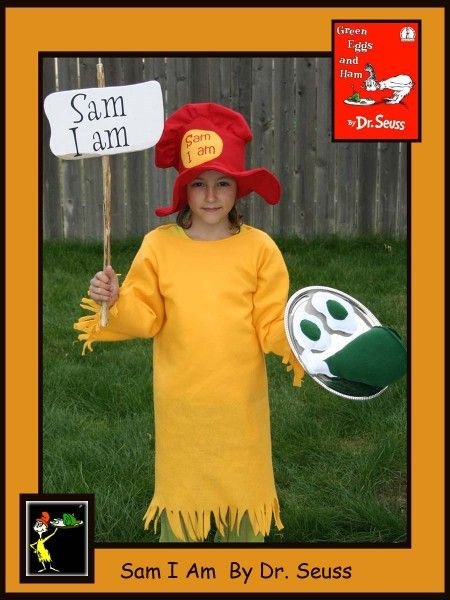 Fun Halloween Costumes Dr Seuss Costume Tutorials For Sam I Am And