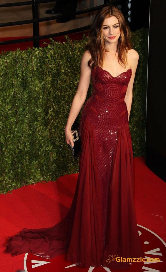 anne-hathaway-in-red-gown   CLICK THIS PIN if you want to learn how you can EARN MONEY while surfing on Pinterest