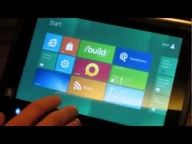 AMD Fusion Windows 8 Tablets Hands-on