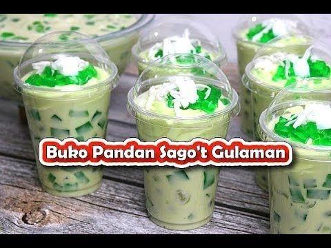 Buko Pandan Sago 39 T Gulaman Recipe Buko Pandan Drink Youtube