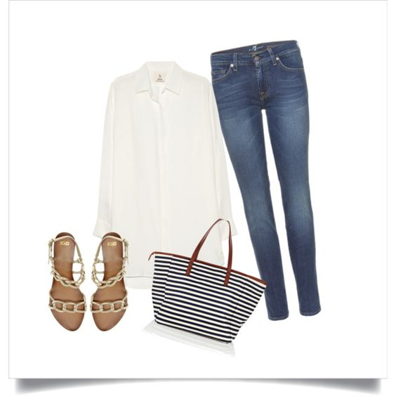 Breezy Nautical, created by jean-brown-allison on Polyvore